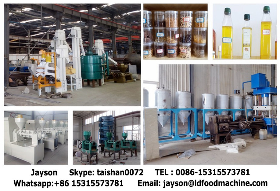 1-20t/d good quality vegetable oil processing plant with CE