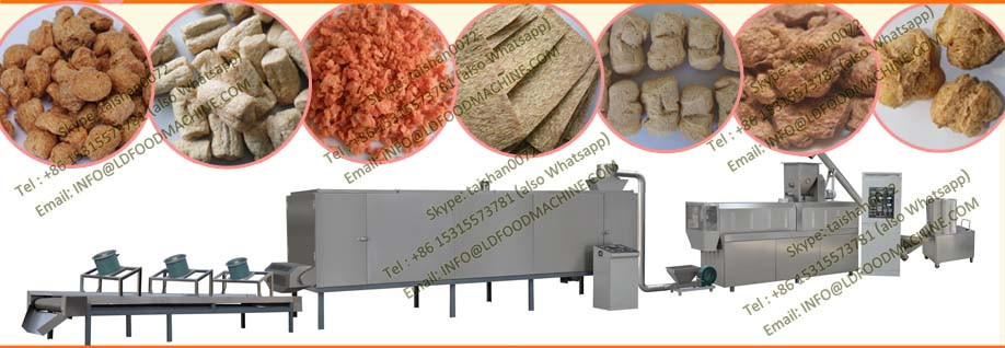 Automatic soya chunks machines/equipment/production line