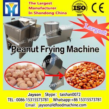 pea nut frying machine/continuous working fryer/belt fryer