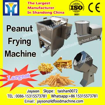 Continuous snack pellet cripsy chips peanuts frying machine