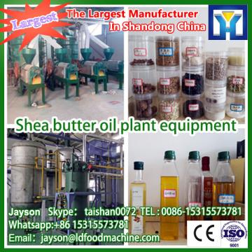 Full continuous shea butter extraction plant with low consumption