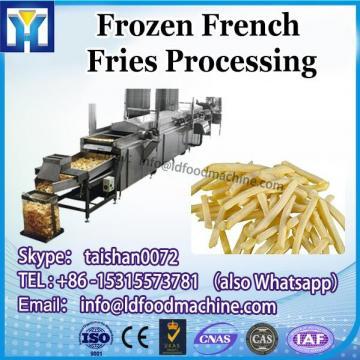 300kgs/h full automatic plants for processing frozen slip of potato