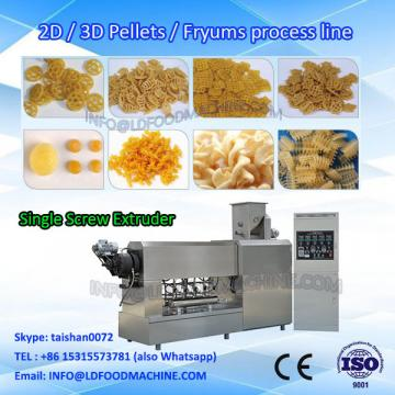 Pani puri fried cone cone automatic continuous 3d pellet food snack making machine on hot sale China factory supplier
