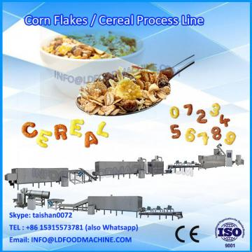 Breakfast cereal corn flakes production line With Promotional