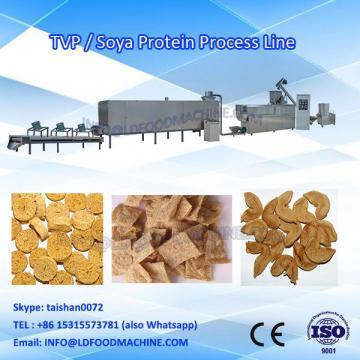Soya protein food processing line/vegetarian meat chunks machine