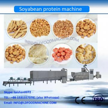 Fiber vegetarian soya protein nuggets chunks processing line