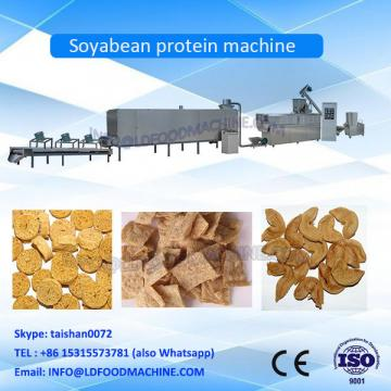 Texturized high moisture Soy Protein Meat Chunks Food Making Double screw extruder