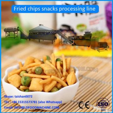 fried pellet chips snacks making machine
