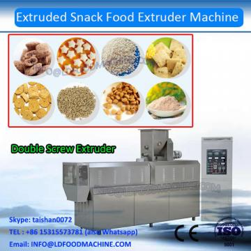 Crunch frying extruded 3d 2d snack pellet food processing equipment manufacturer 100-500kg/h with different shapes