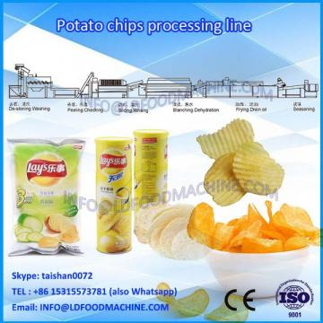 french fries potato chips processing line