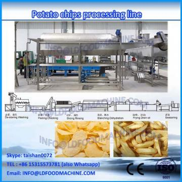 automatic stainless steel potato snack pellet food processing line plant