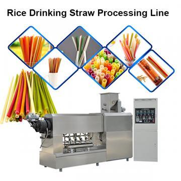 Fully automatic biodegradable drinking straw making machine
