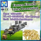 the widely used 300kg/h full automatic frozen potato chipsmaker machines/french fries processing plant production line