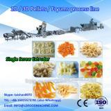 Crunch frying extrusion pellets puffing snacks food 3d 2d papad fryum pani puri making extruder equipment machine