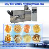 Shandong DG machinery 3d pellet snacks food machine/2d pellet snacks food making machine puffing extruder