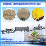 Re-Construction cooked instant rice making double screw extruder /process line  machinery company