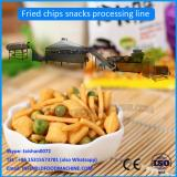 Small scale fried wheat flour puff snack