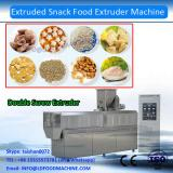 DG75 Double screw extruded potato square tube flat sheets frying pellet snacks making extrusion machinery equipment line