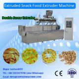 Double screw extruded wheat potato slanty chips pellet fryum papad food produces machines/processing line China supplier Jinan