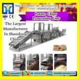 automatic stainless steel small potato chips processing line factory