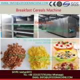 China full automatic corn flakes food cereals processing line machine