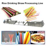 Industrial Biodegradable Edible Rice Tapioca Drinking Straw Maker Making Machine